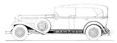 1930 S Touring Car