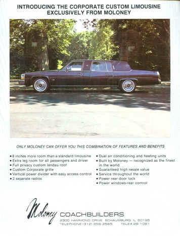 1990 CADILLAC Fleetwood Vintage Original centerfold Print AD black car photo CA